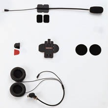 SALUT PLUS Half-Face Helmet Microphone & Speakers Set