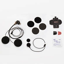 SALUT  Full-Face Helmet Microphone & Speakers Set