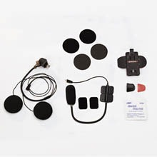 SALUT  Half-Face Helmet Microphone & Speakers Set